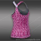 Nike Printed Knit Tank-Raspberry Red