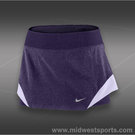 Nike Heathered Woven Skirt-Purple Dynasty