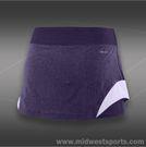 Nike Heathered Woven Skirt-Purple Dynasty