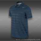 Nike Rally Sphere Stripe Polo-Dark Armory