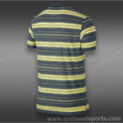 Nike Vapor Touch Stripe Polo-Dark Armory