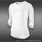 Nike Baseline Three Quarter Sleeve Top