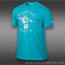 Nike Rafa T-Shirt-Gamma Blue