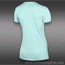 Nike Tennis T-Shirt-Teal Tint