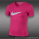 Nike Girls Legend Swoosh T-Shirt