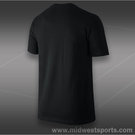 Nike Sticker T-Shirt- Black