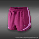 Nike Printed Tempo Short-Bright Magenta/Red Violet/Matte Silver