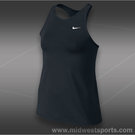 Nike Girls Maria Open Tank-Black