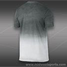 Nike RF V Neck T-Shirt-White/DkBase Grey
