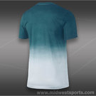 Nike RF V Neck T-Shirt-White/Night Factor