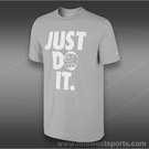 Nike JDI Bites T-Shirt-Dk Grey Heather