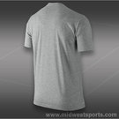 Nike Legends Never Die T-Shirt-Dk Grey Heather