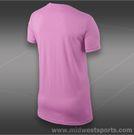 Nike Rafa Amor Tee-Red Violet