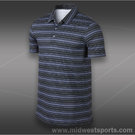 Nike Rally Sphere Stripe Polo-Iron Purple