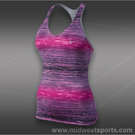 Nike Advantage Printed Tank-Red Violet