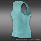 Nike Stripe Pure Tank-Diffused Jade