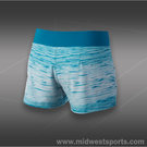 Nike Victory Printed Short-Green Abyss