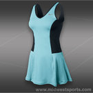 Serena OZ Open Dress-Glacier Ice