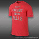 Nike Dont Forget Your Balls T-Shirt-Lt.Crimson
