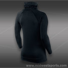 Nike Pro Hyperwarm Side Tie Top-Black