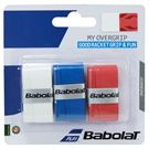 Babolat My Grip Overgrip White/Blue/Red