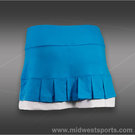 Bolle Curacao Pleated Skirt-Curacao Blue