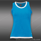 Bolle Curacao Scoop Neck Tank-Curacao Blue