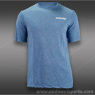 Babolat Tennis Logo Poly Short Sleeve Shirt