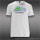 Western and Southern Bright Tennis Ball T-Shirt