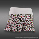 Lucky in Love Girls Rainbow Leopard Skirt
