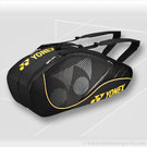 Yonex Tournament Active Black 6 Pack Tennis Bag