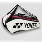 Yonex 2012 Pro Series White 6 Pack Tennis Bag 9226L-WH