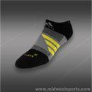adidas Barricade No Show Tennis Sock Black