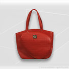 Court Couture Cassanova Quilted Tennis Tote Ruby