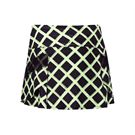 Lucky in Love Roxanne Lightening 12.75 Inch Running Skirt -Black