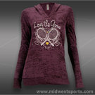 Love All Love the Game Long Sleeve Hooded T-Shirt