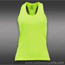Lucky in Love Neon Solid Racer Back Tank