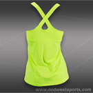 Lucky in Love Neon Cross Back Cami