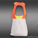 Lucky in Love Petal Power Banded Tank-Orange