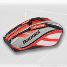 Babolat 2011 Club Line 12 Pack Red Tennis Bag