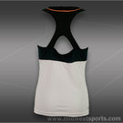 adidas Girls Response Tank-White
