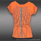 adidas adizero Cap Sleeve Top-Glow Orange