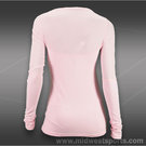 Tonic Ripple Long Sleeve Top-Blush