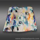 Eleven Aurora Flutter Skirt-Aurora Print