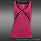 Eleven Overhead Tank Top- Blossom Pink/Black