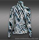 Eleven 1/4 Zip Pullover-Tie Dye Black