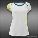Jofit Womens Cyprus Cap Sleeve FT004-WHT