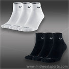 Nike Dri-FIT Half-Cushioned Quarter 3-Pack Socks