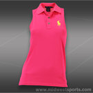 Polo Ralph Lauren Sorona Pique Sleeveless Polo