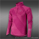 Nike Girls Jacquard Element Half-Zip